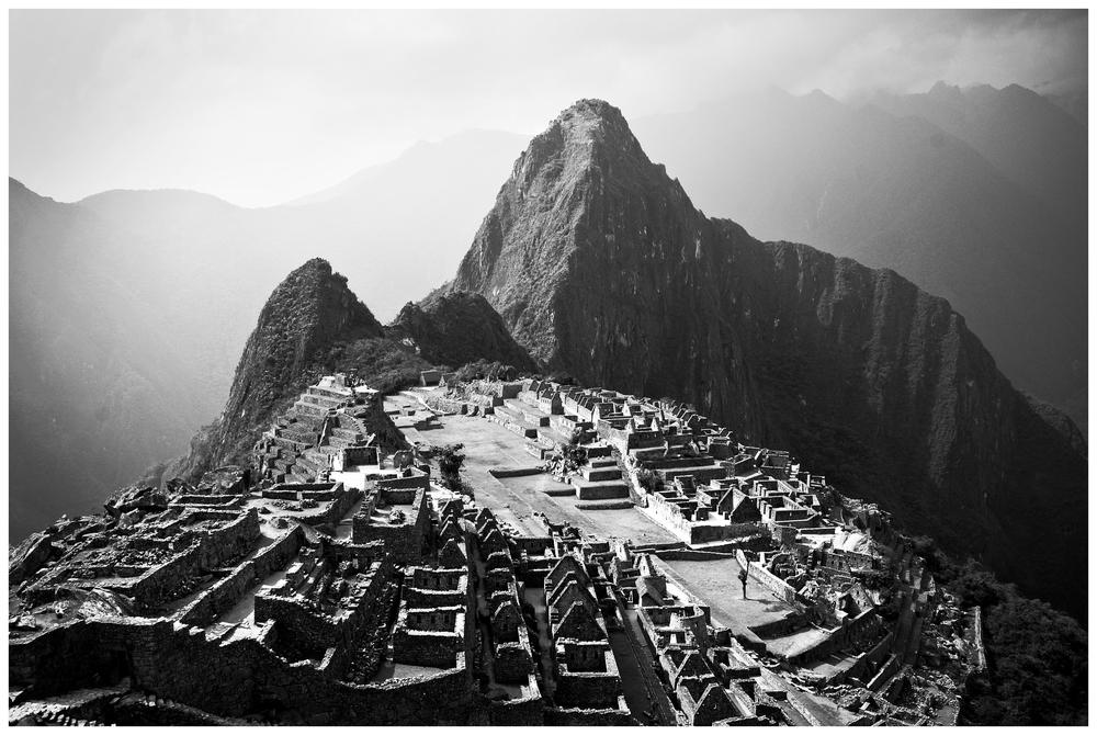 Machu Picchu at First Sight