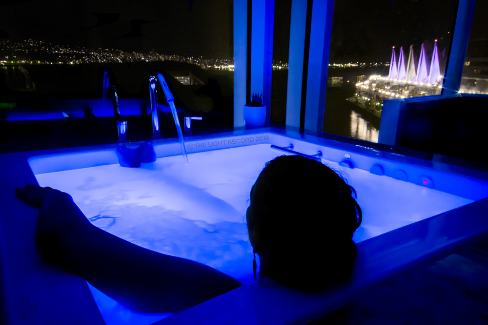 Even if we did not feel like leaving the room, we could still enjoy a spa-quality experience right in our own bathroom. The view from this massive Japanese soaker tub is breathtaking, even if I decided to turn around and watch Sportcenter instead from the wall-mounted TV.