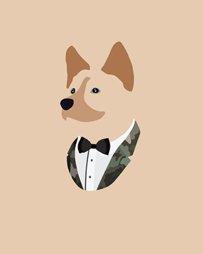 'Thank you @woofmodels for this pawsome portrait of me!' - @my_name_is_maximus