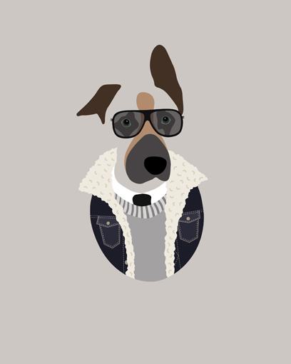 'Loving the styling. I love the sunglasses!!' - Bear's hooman Trevor G