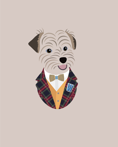 'It looks great, he looks cute! Looking forward to see the print! Thanks so much!' - Woody's hooman Sally K