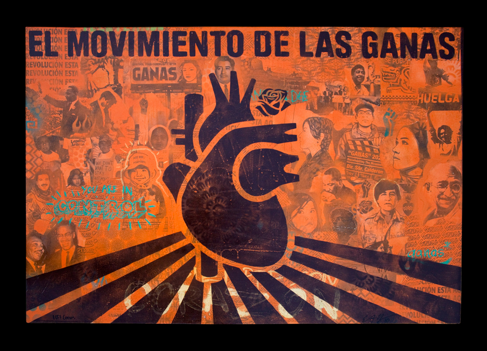 GANAS MOVEMENT FLAG