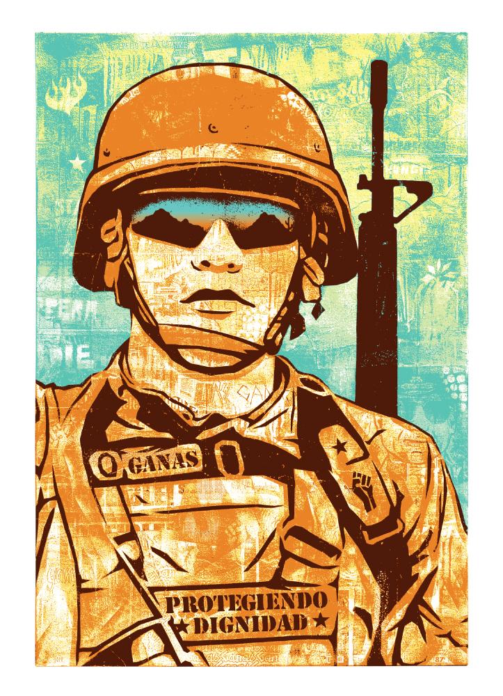 Ganas Soldier