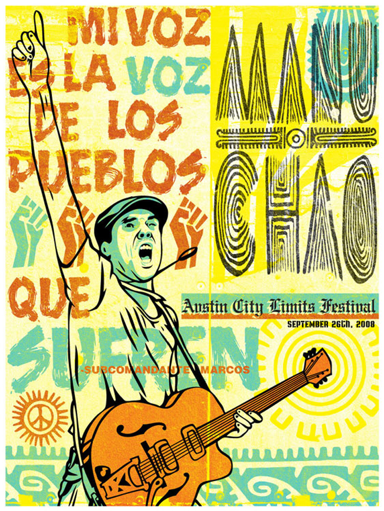 Manu Chao Austin City Limits