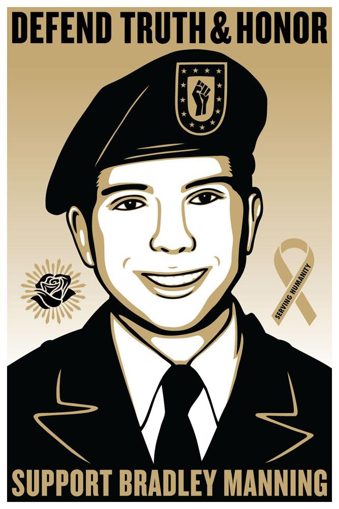Support Bradley Manning.