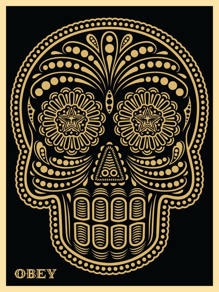 Obey Dia De Los Muertos