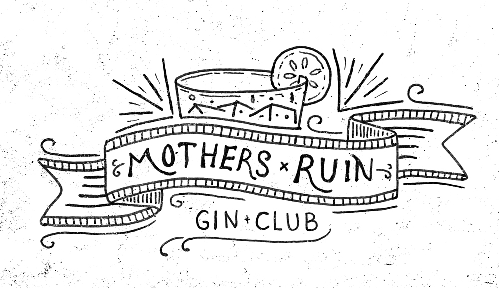 Bit of hand drawn type over the weekend. Mother's Ruin Gin Club. For the discerning gin drinker at the Hub Melbourne Speakeasy. Summer tipples with cucumber garnishes.