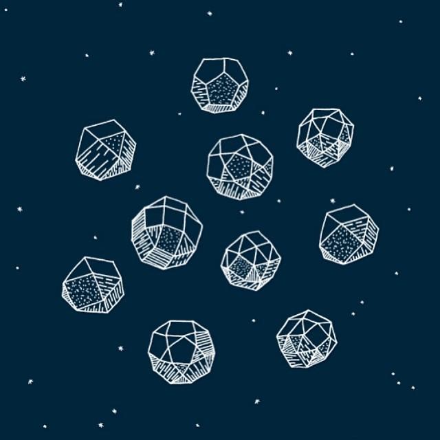 Orbs in the sky.