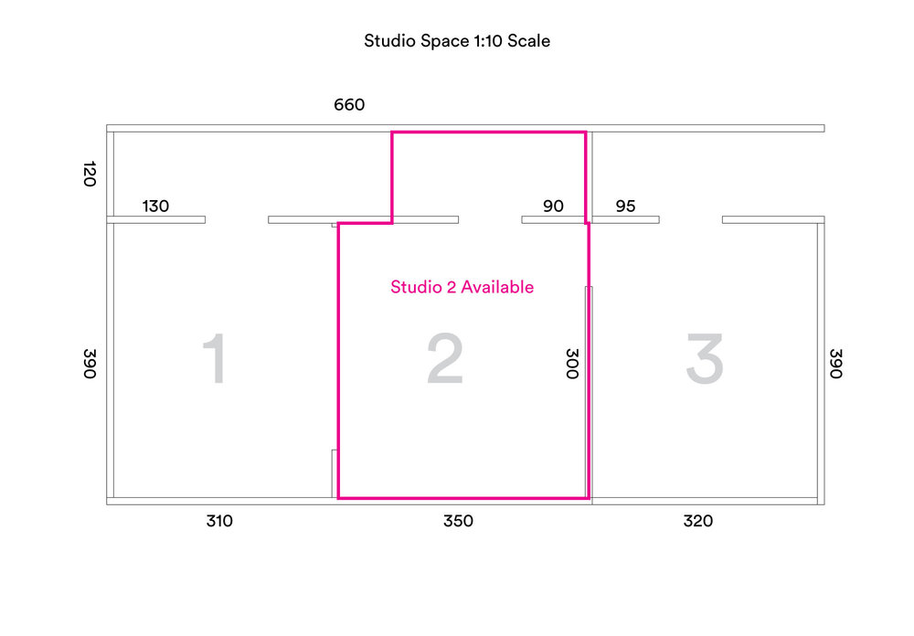 Diagram of Studio Space