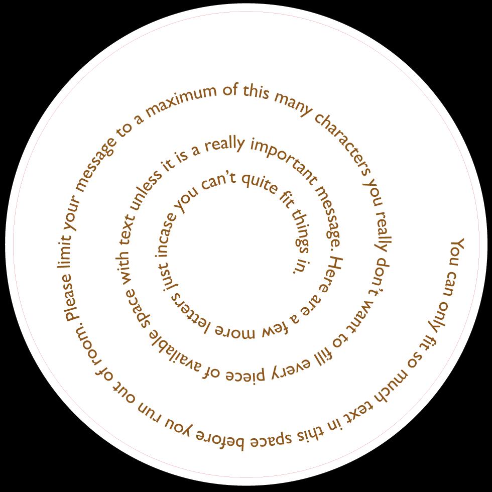 Gill Sans - Spiral