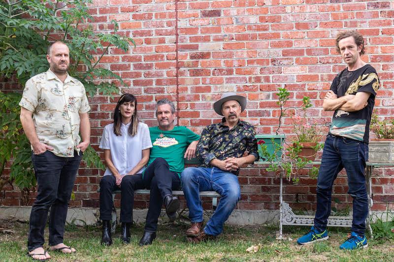 Rob with Ben Wiesner, Rosie Westbrook, Shane O'Mara and Kiernan Box - Photo by Hannah Phemister