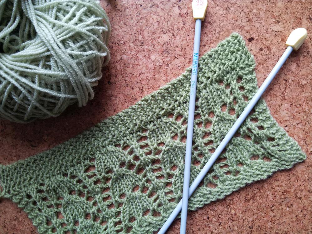 lace knitting class pic