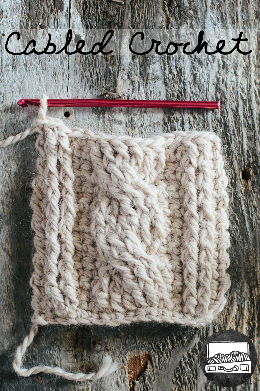 Cabled Crochet Basics slugsontherefrigerator.com