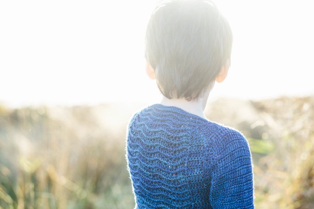 Little Ripples Cardigan from Kat Goldin Designs