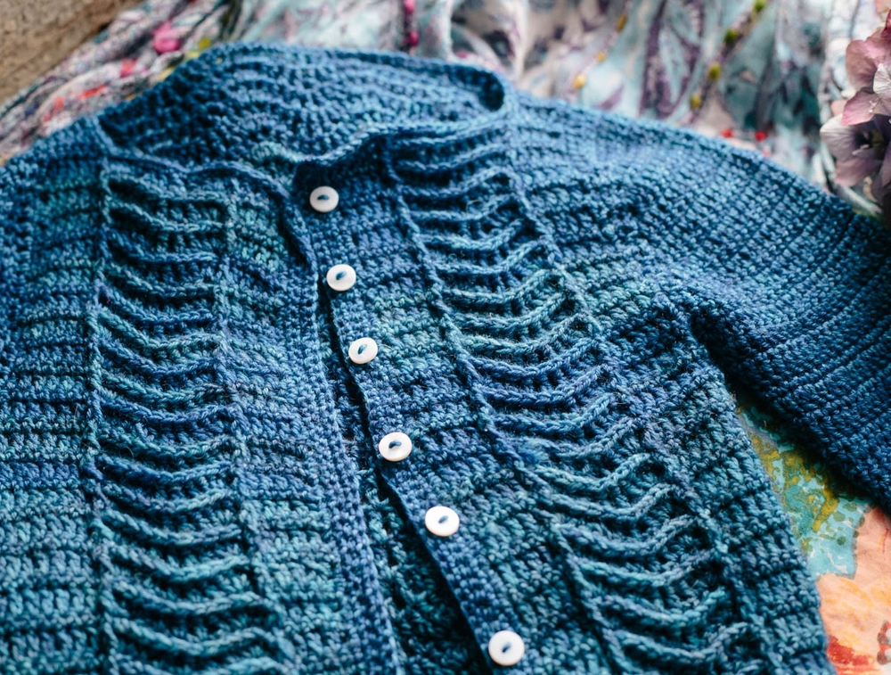 Little Ripples Cardigan by Kat Goldin Designs