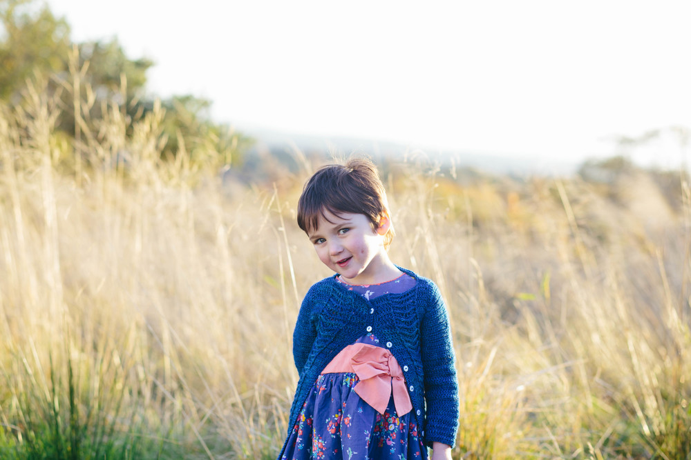 Little Ripples Cardigan by Kat Goldin
