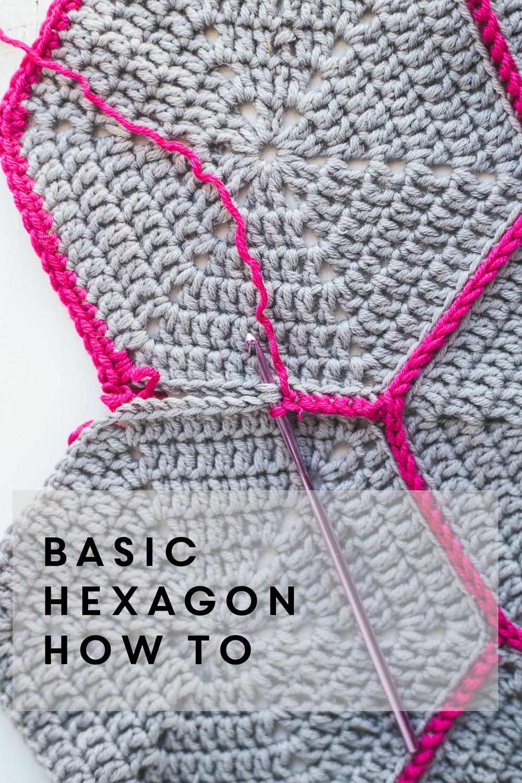 How To Basic Hexagon Gartur Stitch Farm