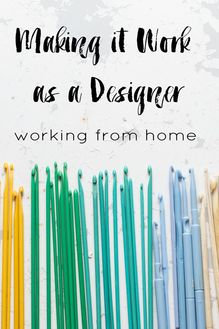 Making it work as a designer: tips for working from home from Slugs on the Refrigerator
