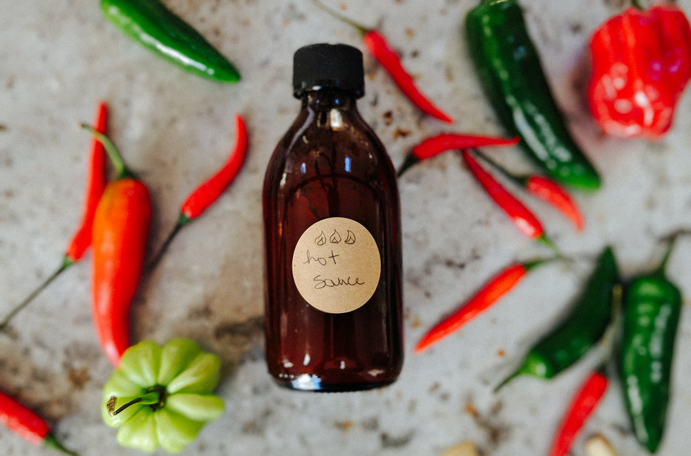 Homemade Hot Sauce -