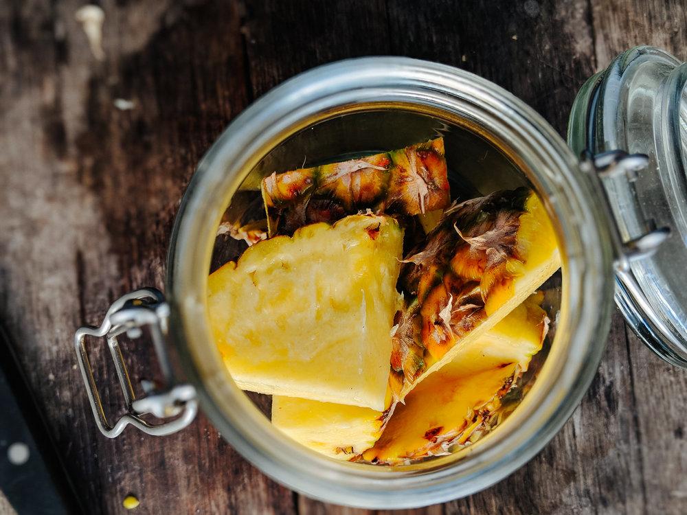 Pineapple Vinegar -