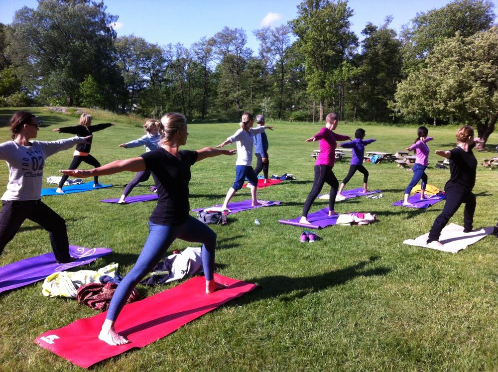 Yoga på Groos