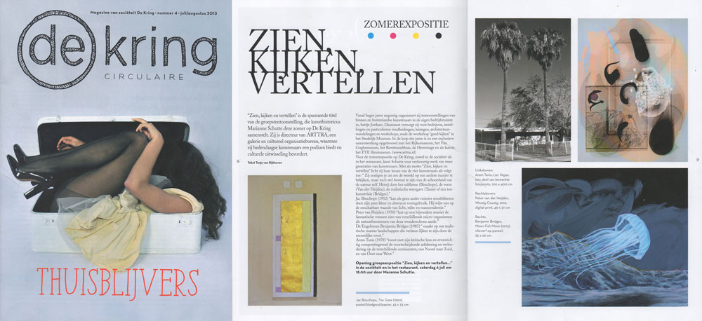 Article in De Kring, Issue 4 July/August 2013