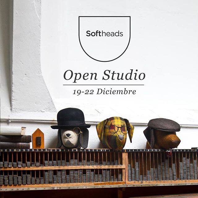 We are Open! 👉🏻Carrer Lledó 11, 2B  08002 Barcelona  19th-22nd December 10:00 - 20:00 h  #comprasnavideñas #xmasshopping #openstudio #puertasabiertas #opendoors #softheads