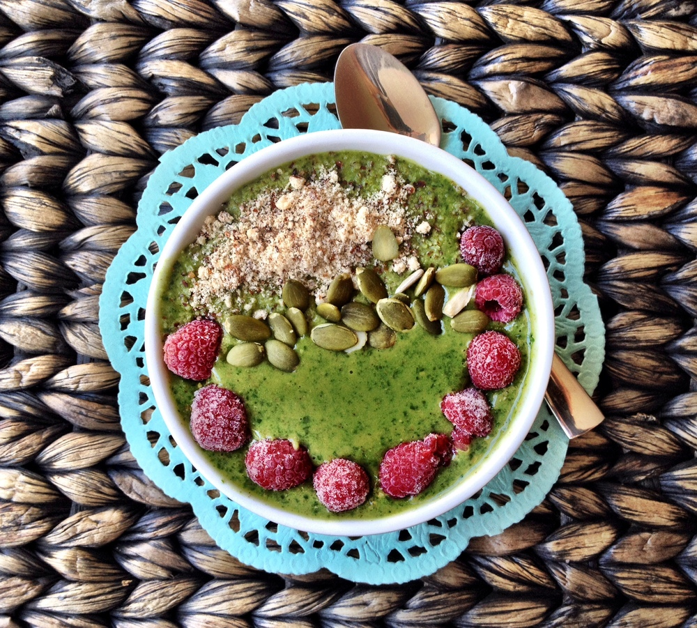Super Green Breakfast Bowl