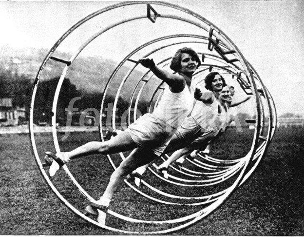 In the 1930s it was all about metal hoops