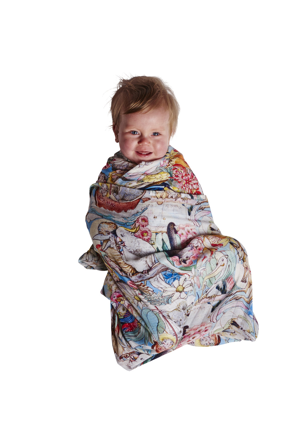 Bush Friends Flutter Baby Wrap