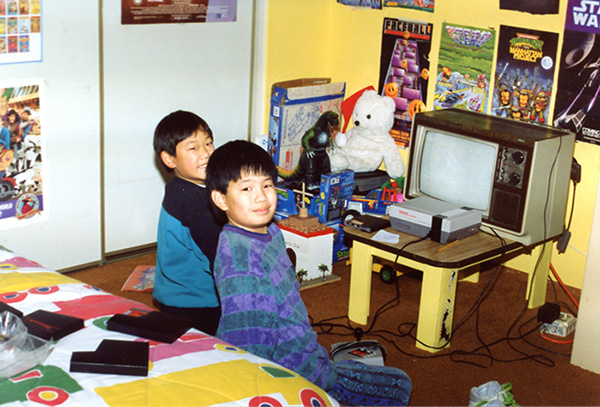 I'm sure my Mom was bugging me to take a photo when all I wanted to do was get back to playing games with my friend Kevin. Sheesh Mom.