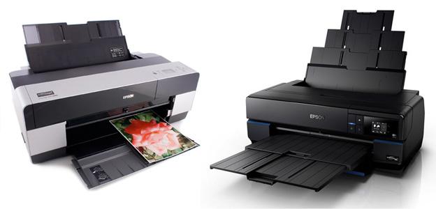 Left: Epson 3880 (discontinued)/ Right: Epson Sure Color SC-P800