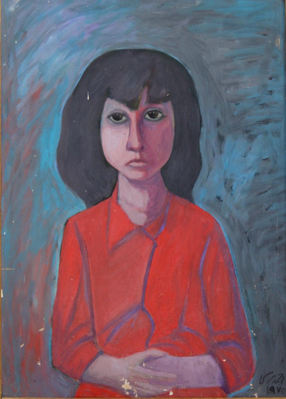 """Portrait of Maha"""