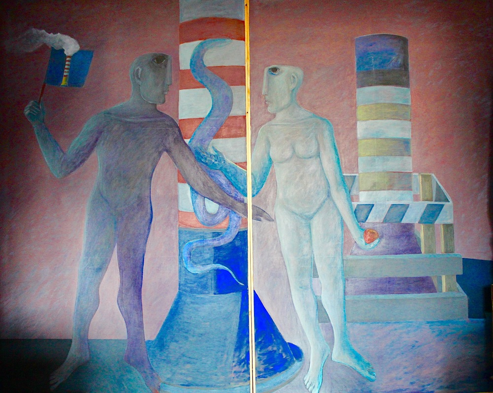 """Adam & Eve (2)"" (diptych)"