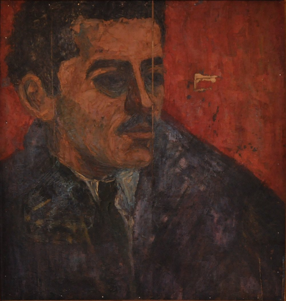 """Portrait of Adam Henein"""