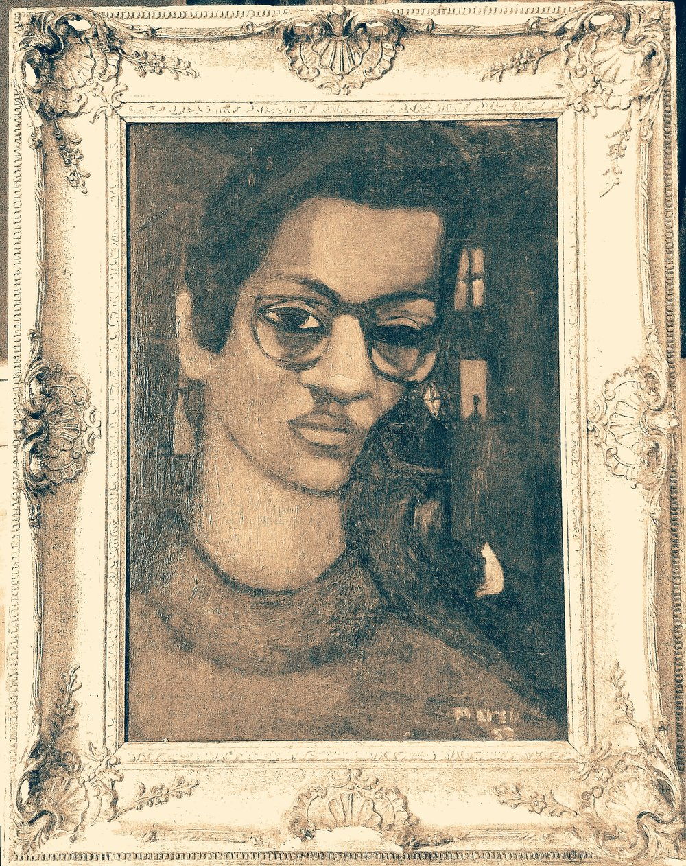 """""""The Poet"""" (Self Portrait)"""