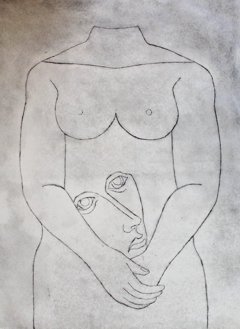"""""""Untitled"""" (1/10) """"Nude Series"""""""