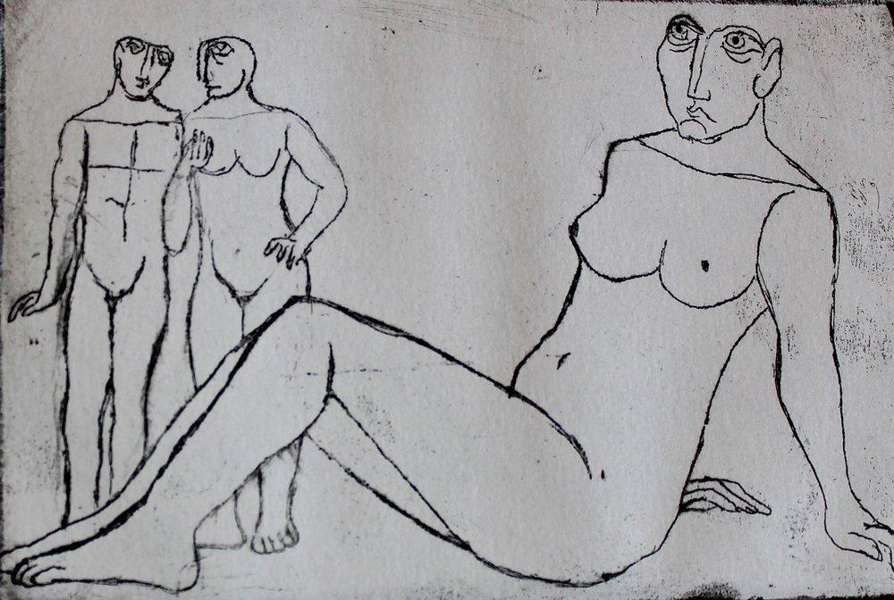 """Untitled"" (10/10) ""Edwar El Kharrat Series"" Artist's Book"
