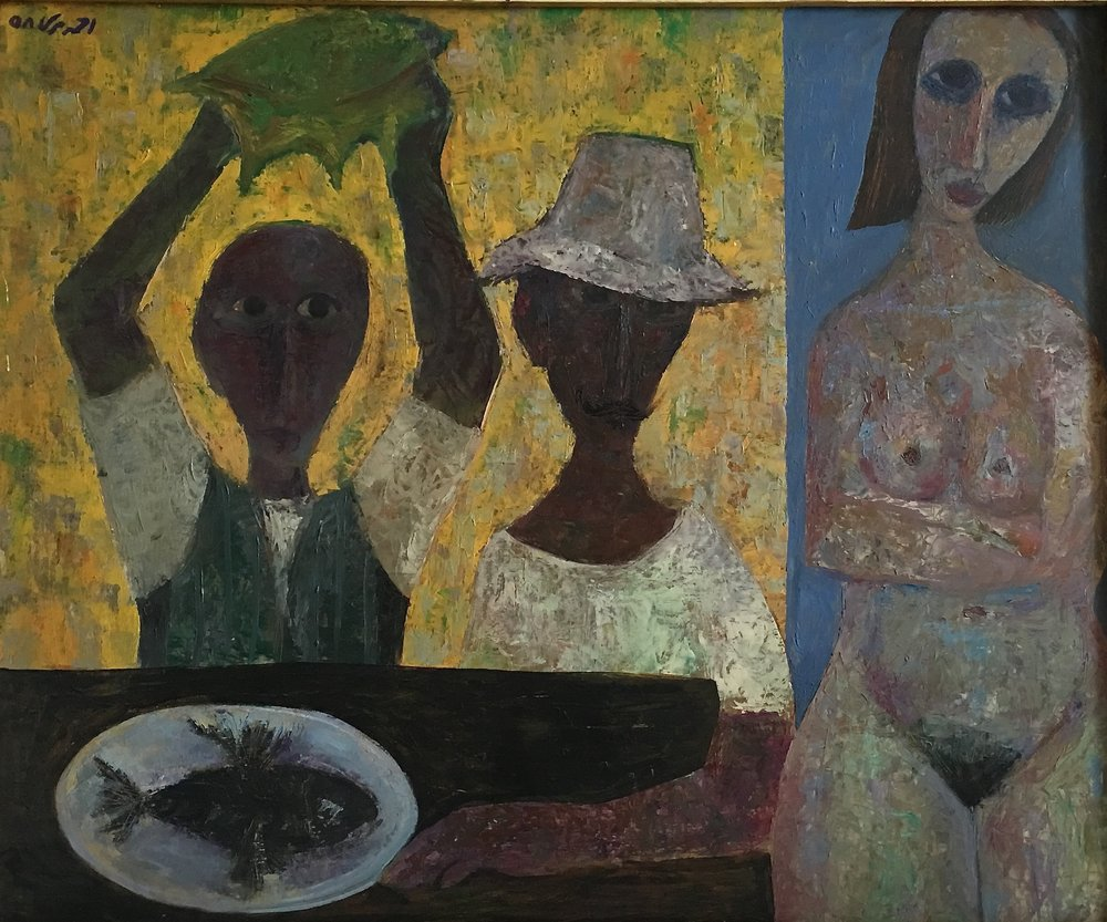 Ahmed-Morsi-Untitled-(Fishermen-Seashell-and-Nude)-Cairo-1958.jpg