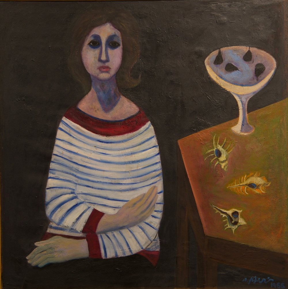 Ahmed-Morsi-Portrait-of-the-Artist's-Wife-(Amani)-1966.jpg