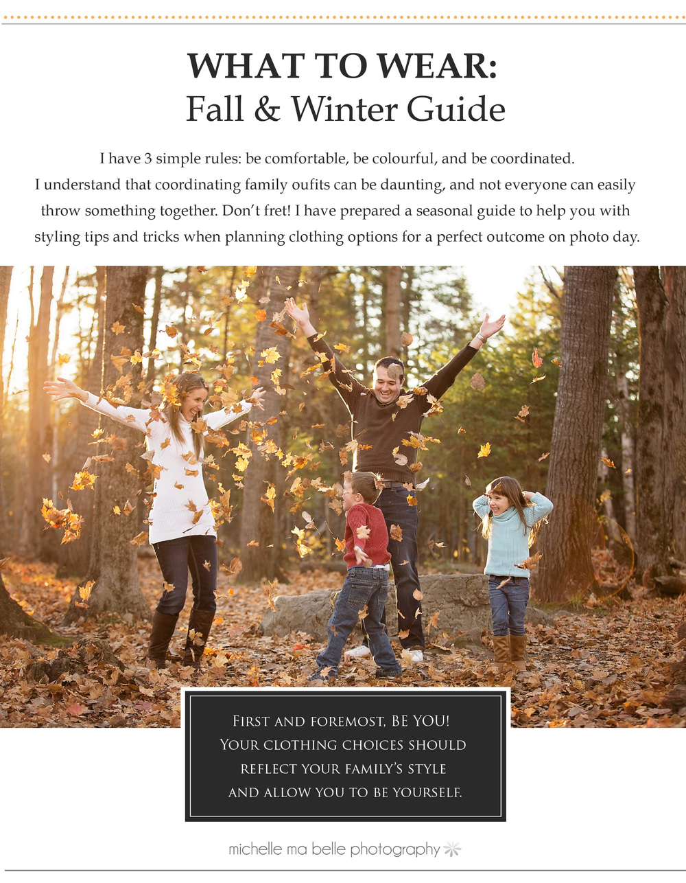Click on image to browse the Fall & Winter Style Guide.