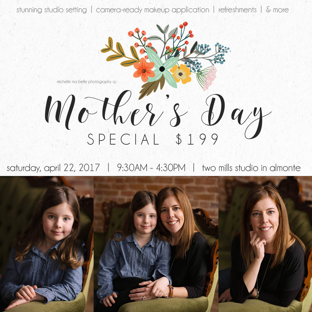 mothers day promo 2017