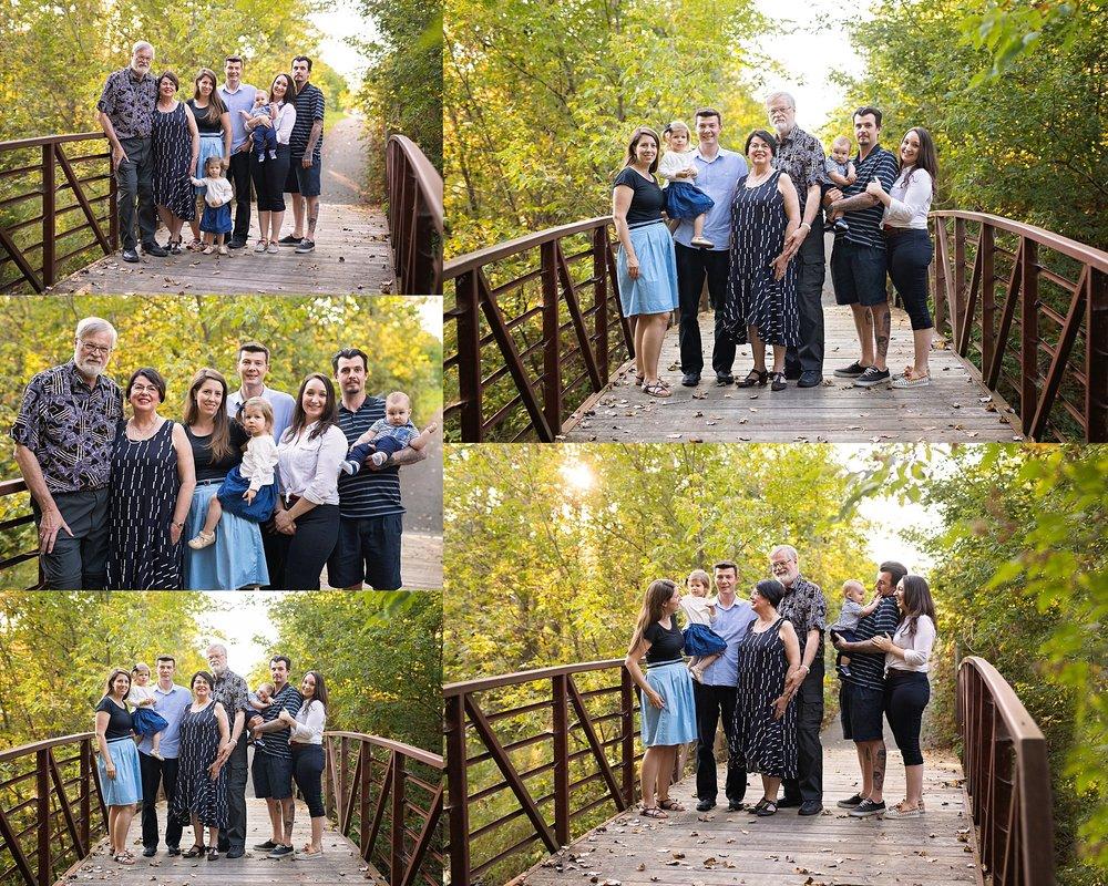 extended family photo session ottawa