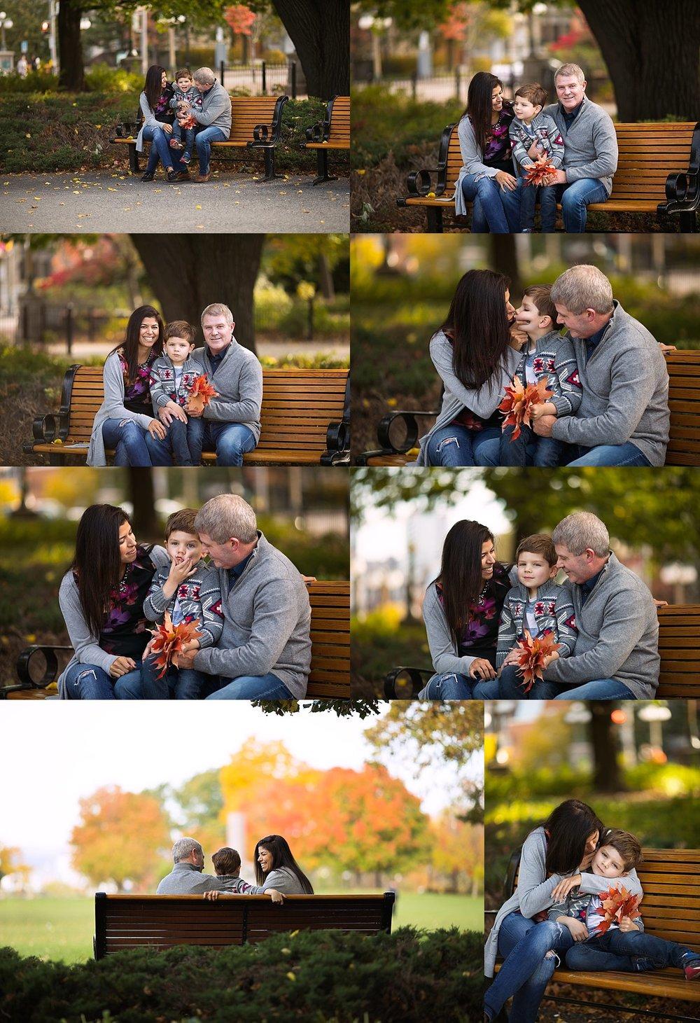 cityscape family photos