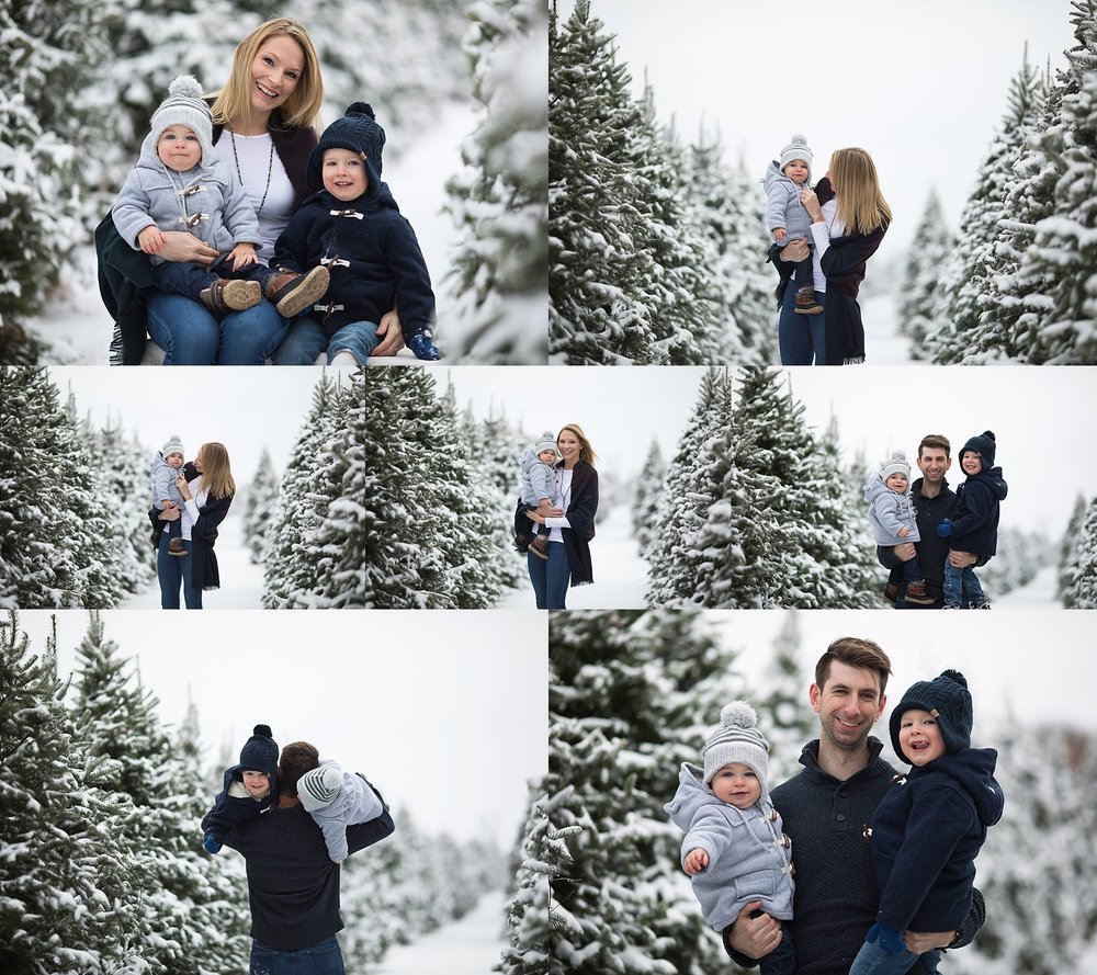 winter family photography ottawa