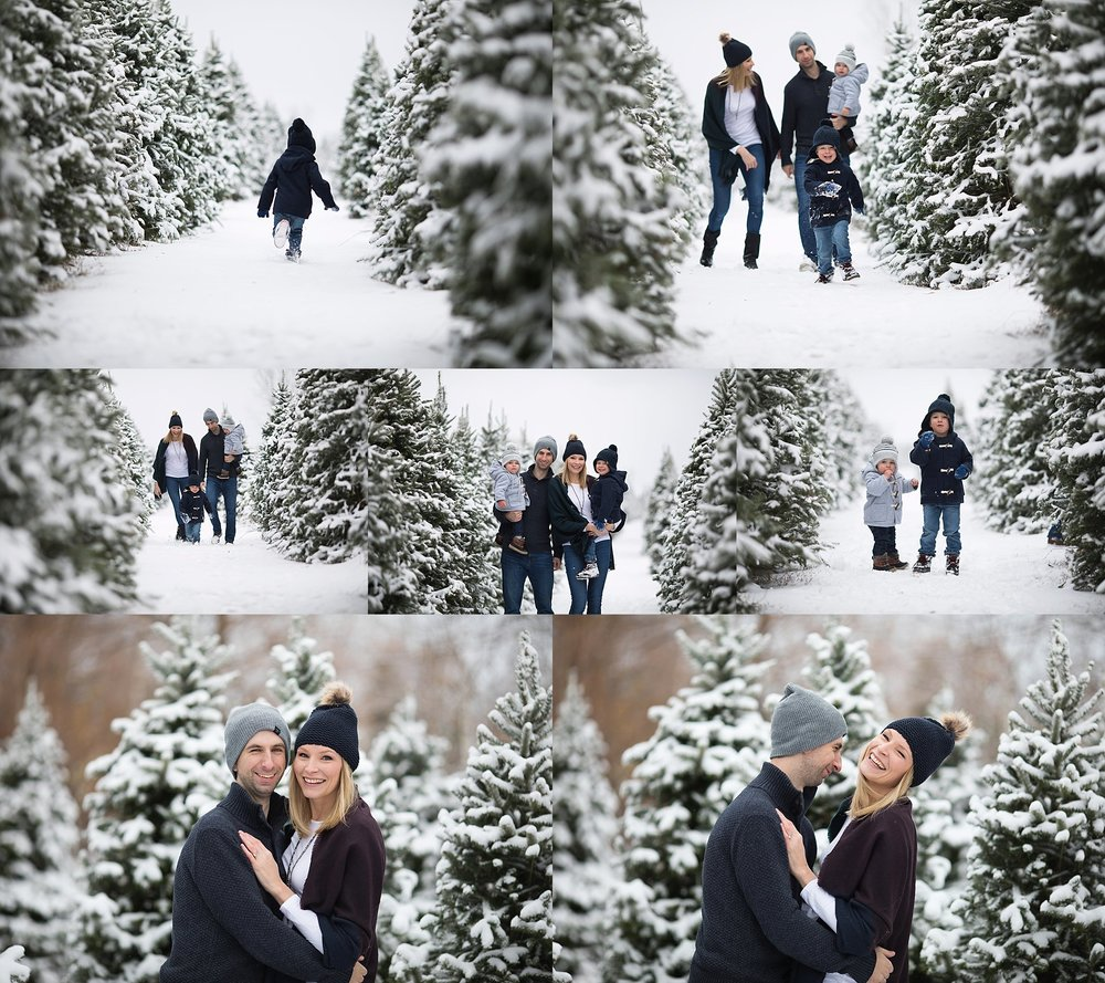 winter family photos