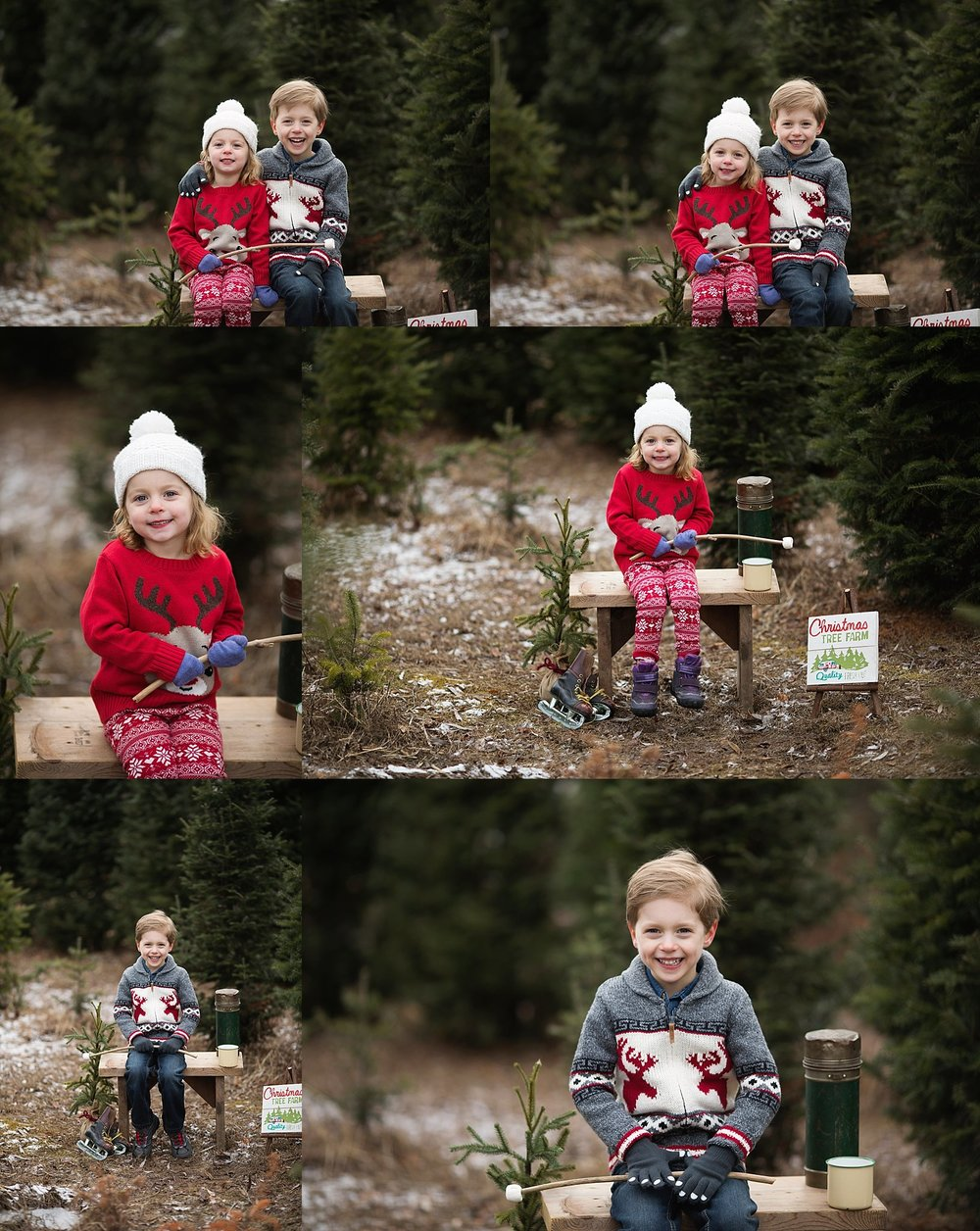 christmas portraits children