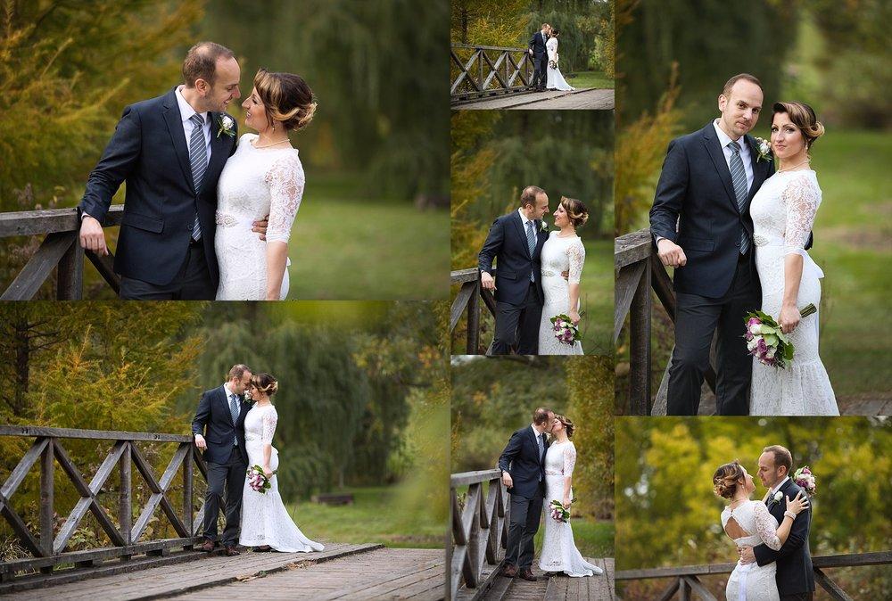 Bridal Portraits at Ottawa Arboretum