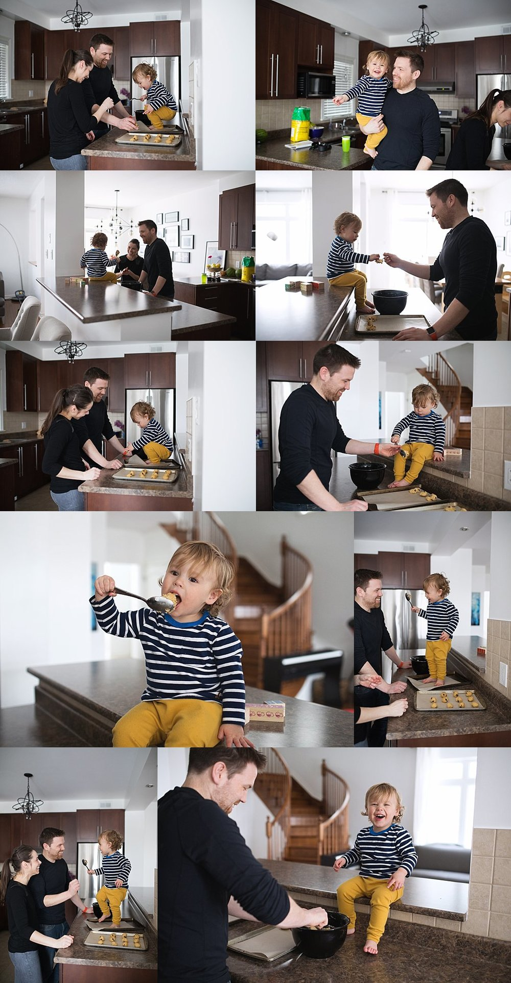 family lifestyle photography in-home