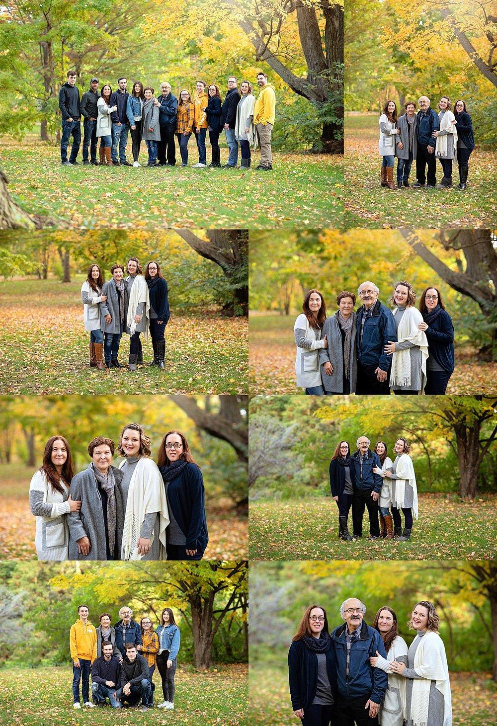 Multi Generations Family Portraits Ottawa